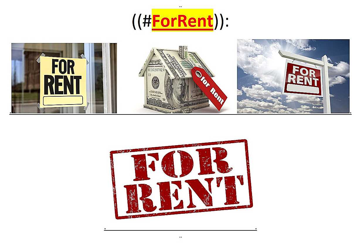 ~@ForRent..--